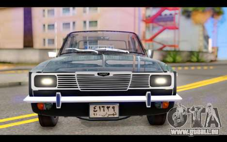 Peykan 1347 Classic für GTA San Andreas Rückansicht