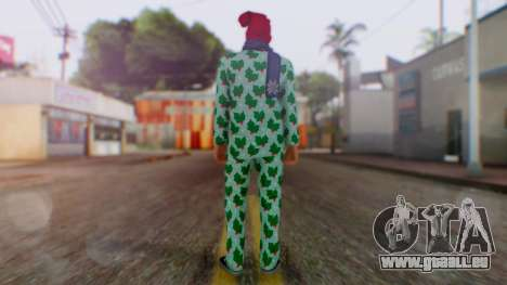 GTA Online Festive Surprise Skin 4 für GTA San Andreas dritten Screenshot