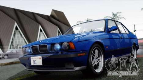BMW M5 E34 US-spec 1994 (Full Tunable) pour GTA San Andreas laissé vue