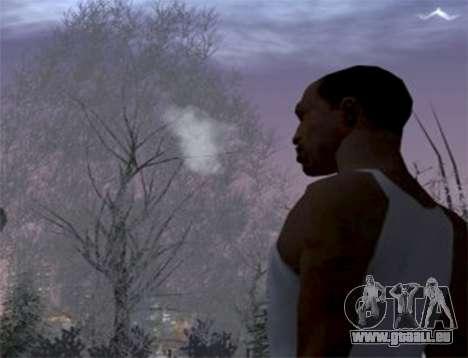 Der Dampf aus dem Mund für GTA San Andreas