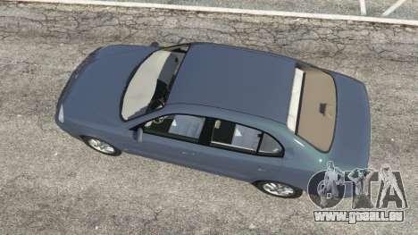 GTA 5 Daewoo Leganza US 2001 Rückansicht