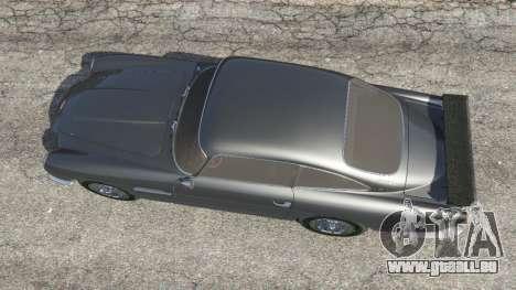 GTA 5 Aston Martin DB5 Vantage 1965 Rückansicht