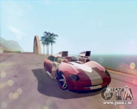 Banshee Twin Mill III Hot Wheels v1.0 pour GTA San Andreas