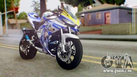 Yamaha YZF R-25 Kos-Mos Xenosaga Itasha 2014 pour GTA San Andreas