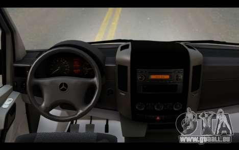Mercedes-Benz Sprinter für GTA San Andreas rechten Ansicht