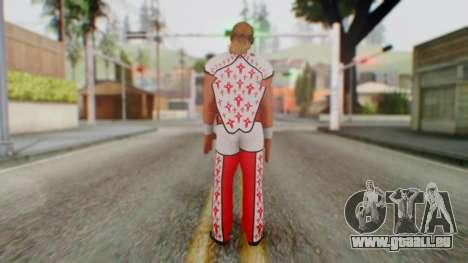 WWE HBK 2 für GTA San Andreas dritten Screenshot