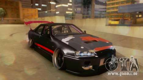 Nissan Skyline GT-R R34 Hella für GTA San Andreas