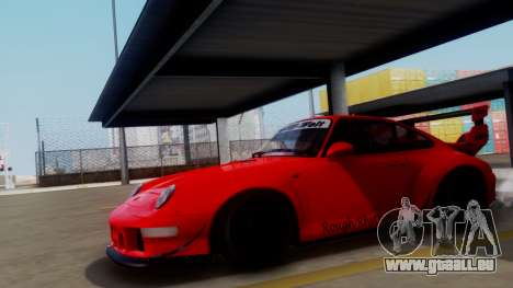 Porsche 993 GT2 RWB Rough Rhythm pour GTA San Andreas