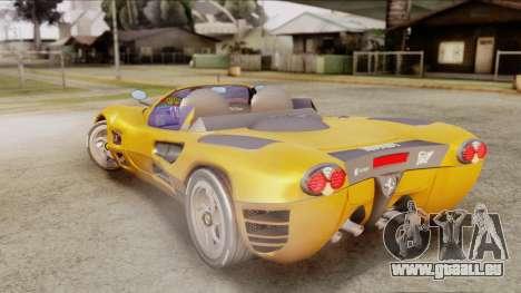 Ferrari P7 Cabrio für GTA San Andreas linke Ansicht