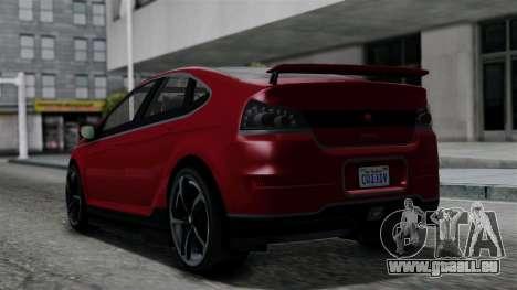 GTA 5 Cheval Surge IVF für GTA San Andreas linke Ansicht
