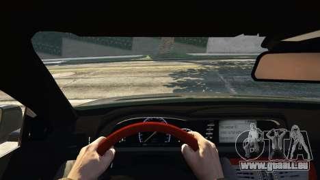 GTA 5 2010 CL65 Mercedes-Benz AMG arrière droit vue de côté