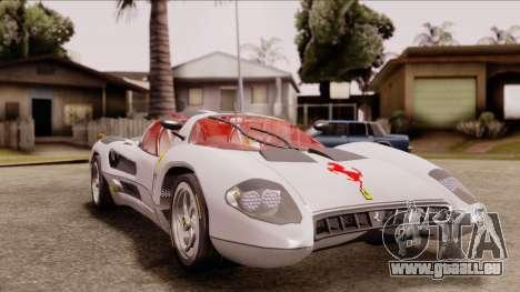 Ferrari P7 Horse für GTA San Andreas