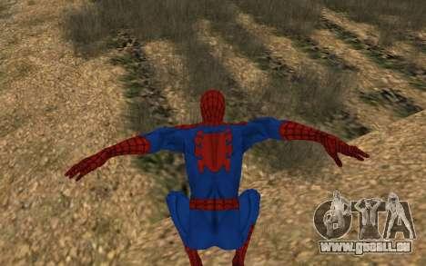 Amazing Spider-Man Version Comique par Robinosuk pour GTA San Andreas cinquième écran