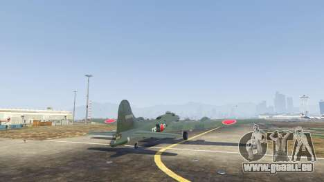 GTA 5 Boeing B-17 Flying Fortress dritten Screenshot