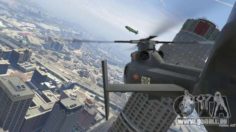 GTA 5 Harbin Z-9 sechster Screenshot