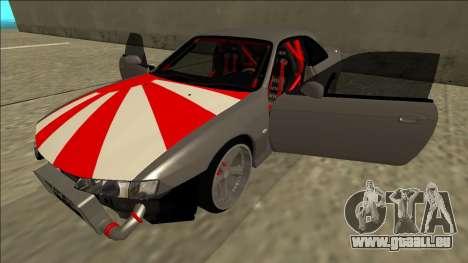 Nissan Silvia S14 Drift JDM pour GTA San Andreas vue de dessous