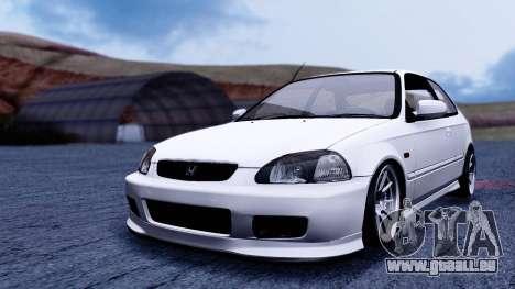 Honda Civic 1.6 Hatchback pour GTA San Andreas vue de droite