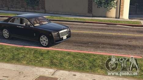 GTA 5 Rolls Royce Ghost 2014 vue arrière