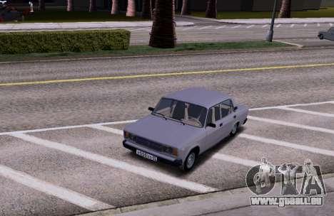 VAZ 2105 KBR für GTA San Andreas Rückansicht