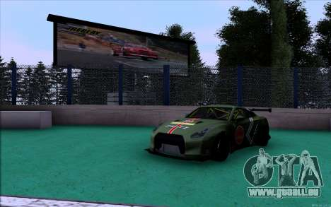 Nissan GT-R Liberty Walk Robbie Nishida pour GTA San Andreas laissé vue
