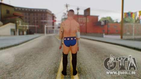 CM Punk 2 pour GTA San Andreas troisième écran