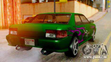 Sultan Винил из need For Speed Underground 2 pour GTA San Andreas laissé vue