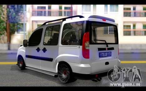Fiat Doblo pour GTA San Andreas laissé vue