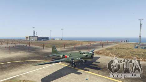 GTA 5 Boeing B-17 Flying Fortress