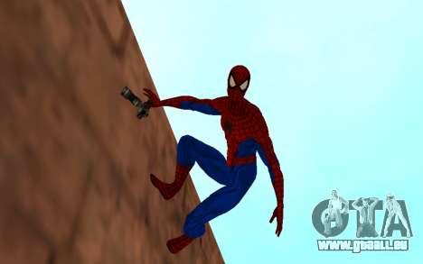 Amazing Spider-Man Version Comique par Robinosuk pour GTA San Andreas deuxième écran