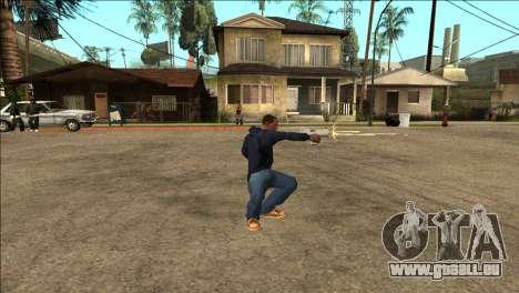 Zusätzliche animation TEC-9 für GTA San Andreas