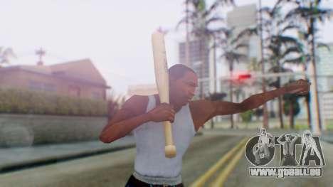 Vice City Baseball Bat für GTA San Andreas dritten Screenshot
