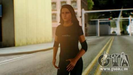 Stephani WWE pour GTA San Andreas