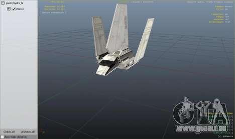 Star Wars: Imperial Shuttle Tydirium pour GTA 5
