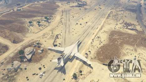 GTA 5 Tu-160 White Swan fünfter Screenshot