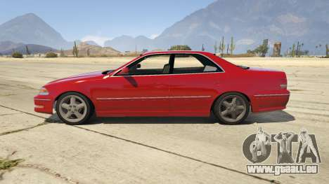 GTA 5 Toyota Mark II JZX100 Tunable linke Seitenansicht