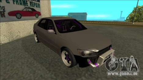 Lexus IS300 Drift für GTA San Andreas linke Ansicht