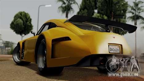 GTA 5 Bravado Verlierer pour GTA San Andreas laissé vue