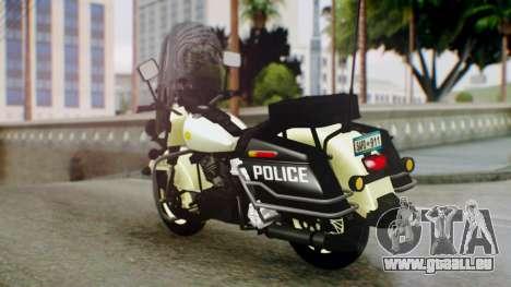 New Police Bike für GTA San Andreas linke Ansicht
