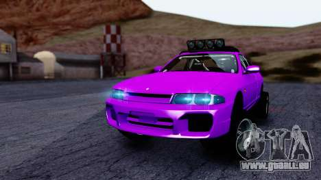 Nissan Skyline R33 Rusty Rebel pour GTA San Andreas