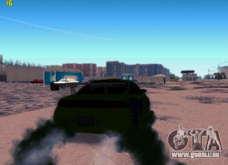 Fast ENB V.31 pour GTA San Andreas deuxième écran