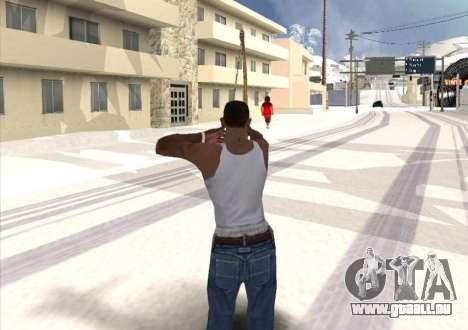 Tir à l'arc pour GTA San Andreas troisième écran