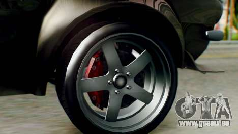 GTA 5 Imponte Nightshade IVF pour GTA San Andreas sur la vue arrière gauche