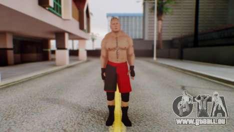 Brock Lesnar pour GTA San Andreas deuxième écran