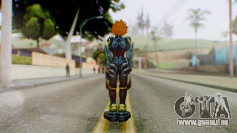 KHBBS - Ventus Armor (Helmetless) pour GTA San Andreas troisième écran