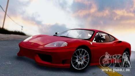 Ferrari 360 Challenge Stradale für GTA San Andreas