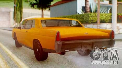 GTA 5 Vapid Chino Tunable pour GTA San Andreas laissé vue