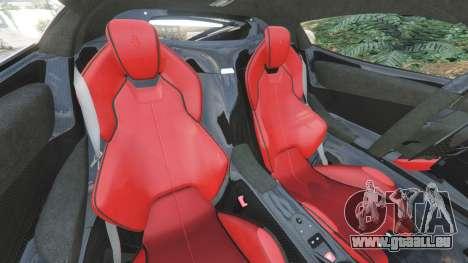 GTA 5 Ferrari LaFerrari 2015 v1.2 droite vue latérale