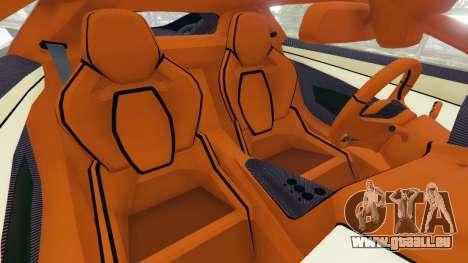 GTA 5 Jaguar C-X75 droite vue latérale