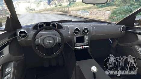 GTA 5 Jaguar F-Type 2014 hinten rechts