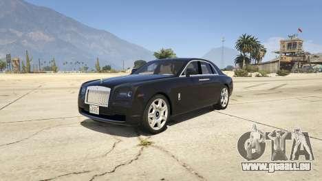 Rolls Royce Ghost 2014 für GTA 5